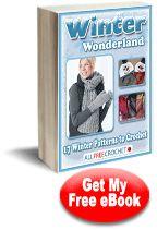 Winter Wonderland 17 free crochet patterns e book