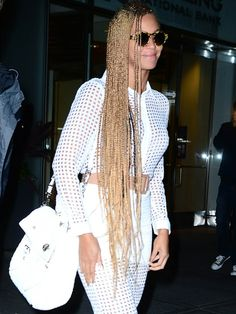 Beyoncé and Lady Gaga's thigh-grazing flaxen hair made a strong case in favor of the polarizing Rapunzel weave this week.
