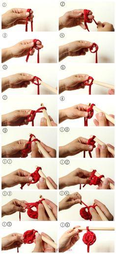 Anillo Mágico fácil // Easy magic ring :3 by @almazuelablog