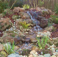 pondless waterfall for backyard