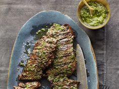 Pesto Steak Recipe : Food Network Kitchen : Food Network - FoodNetwork.com
