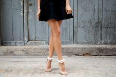 DIY knotted rope heels 11 by apairandaspare, via Flickr