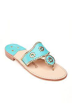 Jack Rogers Nantucket Gold Sandal #belk #shoes