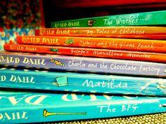 Love Roald Dahl books