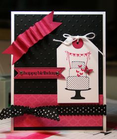 Stampin' Up!  Make A Cake  Krystal's Cards and More: Stampin' Celebration Challenge #55