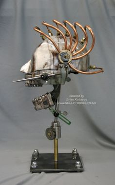Awesome steampunk Skull