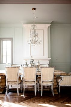 Cool Chic Style Attitude: Interiors design | Alice Lane Home Collection dining rooms, simpl glamour, dine room, dream homes, dining chairs, glamour dine, kitchen dining, home kitchens, dining room chairs