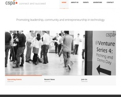 CSPA Website Design