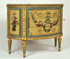 Italian commode  18th century  maker: Giuseppe Maria Bonzanigo (1745-1820)