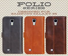 Folio Series for Samsung Galaxy S4 http://www.dsstyles.com/samsung-galaxy-s4-cases/folio-series.html
