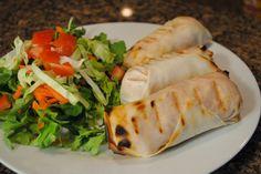 Grilled Buffalo Tofu Spring Rolls from That Was Vegan? #vegan