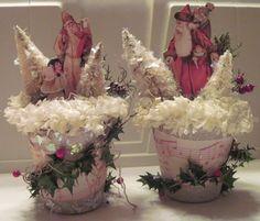 ARTRIX-PLAYTIME: Peat Pot Santas