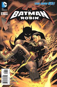 Comic Book Review: 'Batman and Robin' #8