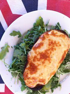 Welsh Rarebit recipe - perfect English winter cheesy food You Say ...