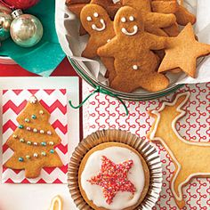 holiday, christmas cookie recipes, christma cooki, food, gingerbread cookies