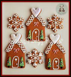 cooki gingerbread, cooki christmashanukkah, christma cooki, pudgi panda, gingerbread hous, gingerbread cookies, decorated cookies, holiday treat, decor cooki