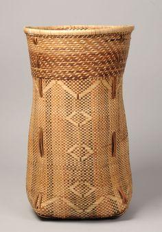 prior pinner: Africa | A Yaka Basket | Democratic Republic of Congo