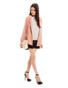 #Chic Black Ruffled Hem Mini #Skirt
