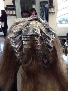 Foil work!!! Full head highlight