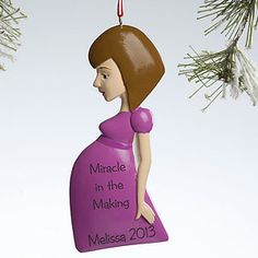 Mom To Be© Personalized Ornament