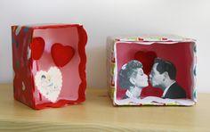DIY: Valentine Dioramas