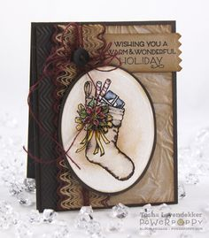 Stamp Talk with Tosh: Power Poppy October Release!! Poinsettia stamp set, Card Design by Tosha Leyendekker!