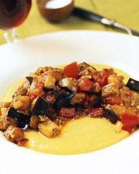polenta and eggplant recipe similar to ratatouille