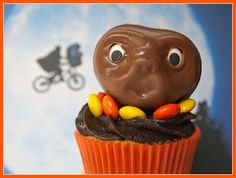 E. T. -- Peanut Butter Cupcakes