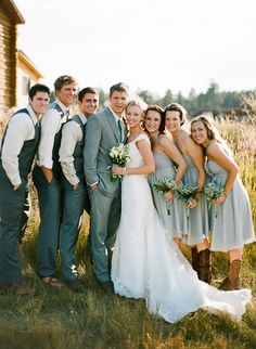 Rustic Wedding by Cassidy Brooke « Southern Weddings Magazine - super cute southern wedding in Colorado :)