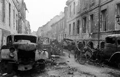 Oberwallstrasse, in central Berlin, which saw some of the most vicious fighting between German and Soviet troops in the spring of 1945.