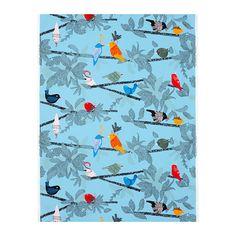 EVALOTTA Fabric, blue, multicolour. for the chairs