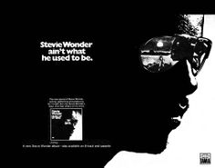 "Stevie Wonder ""Music of My Mind"" (1972) album ad"