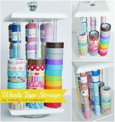 Doodlebug Design Inc Blog: Washi Tape Week: Storage + Fabric