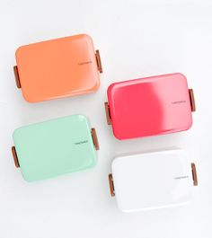 bento box, pastel, gift, color palettes, lunch boxes, color schemes, lacquer bento, random stuff, brooklyn
