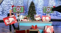 ellen 12, ellen degener, giveaway, target, gift cards, wrapped gifts, martha plimpton, favorit tv, christma