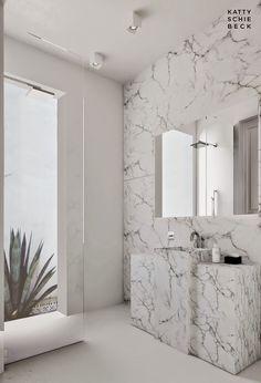 Barcelona bathroom designed by Katty Schiebeck