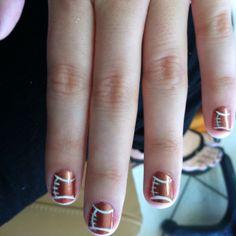 My football nails