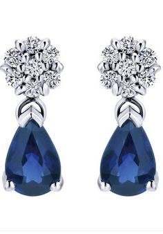 White gold and deep blue