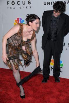 Amanda Palmer & Neil Gaiman at the 2010 Golden Globes