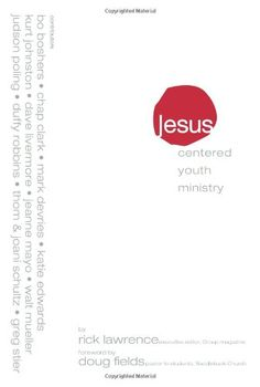 This is THE book that changed the way we do Youth Ministry...Jesus-Centered Youth Ministry