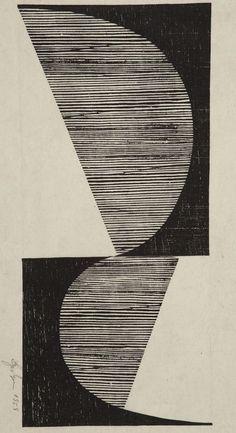 Untitled, Lygia Pape, 1958. abstract, draw, balanc, pattern, untitl, artist, 1958 lygia, lygia pape, print