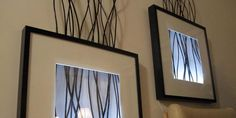 backlit frame, wall art, wall decorations, framed art, lighting ideas, ikea hacker, picture frames, diy, wall lighting