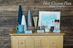 Hot Chocolate Bar...
