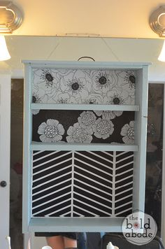 Repurpose an old cabinet!