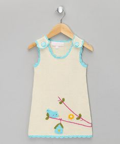 Take a look at this Cream Birdcage Jumper - Infant & Toddler by Powell Craft on #zulily today!