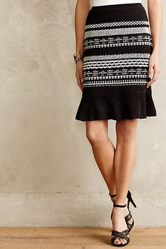 Mavis Knit Pencil Skirt - anthropologie.com