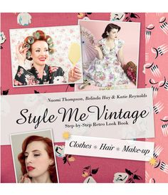 Style Me Vintage: Step-by-Step #Retro Look Book #uniquevintage