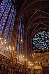 My most favorite stained glass ever. Sainte-Chapelle, Paris