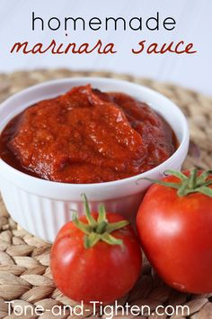 Homemade Marinara Sauce on MyRecipeMagic.com
