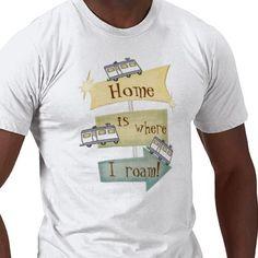 RV Camping / Road Trip Lifestyle T-Shirt
